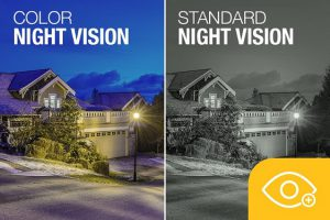 دوربین مدابسته دید در شب رنگی