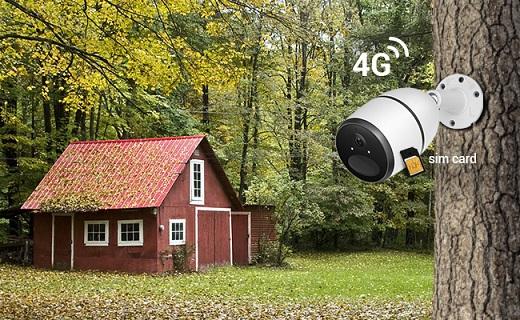 انواع دوربین مداربسته سیمکارت خور