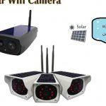 دوربین مداربسته وایرلس خورشیدی