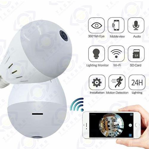 خرید اینترنتی دوربین مداربسته لامپی کنترل از راه دور
