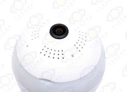 فروش و نصب دوربین مداربسته 360 درجه لامپی