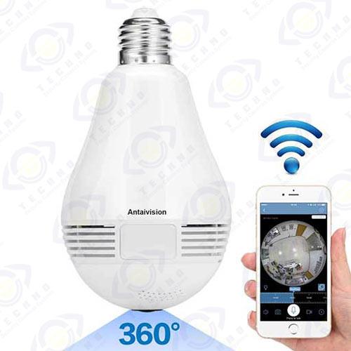 فروشگاه دوربین مداربسته طرح لامپ